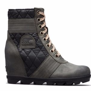 Sorel Lexie Wedge Ankle Boot
